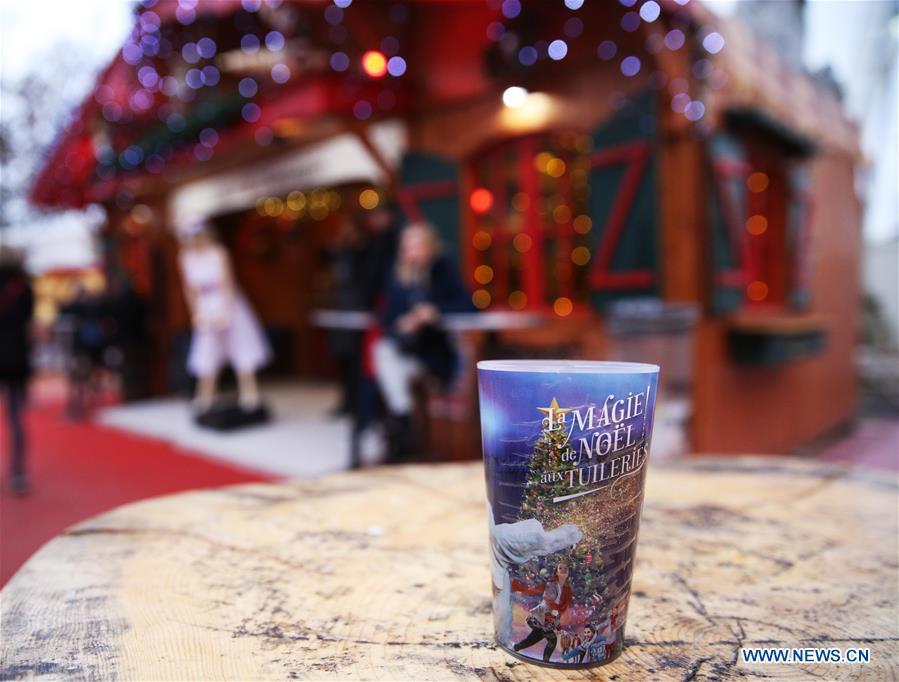 Annual Christmas Market Held At Jardin Des Tuileries In Paris