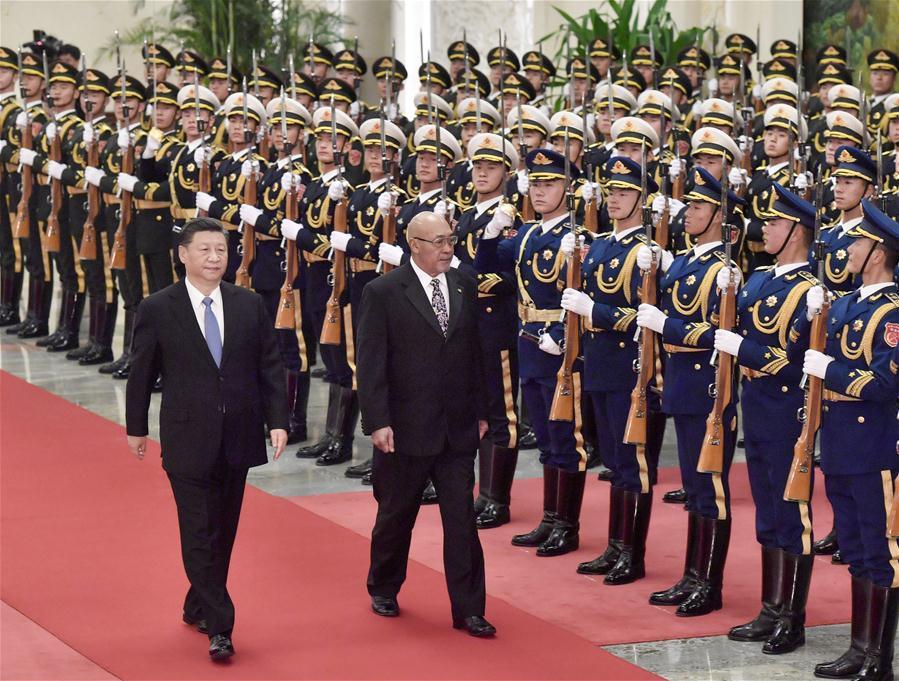 中国-北京-金平-苏里南-总统谈话(CN)