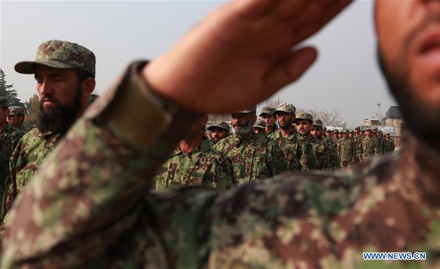 阿富汗-卡布尔军队毕业典礼