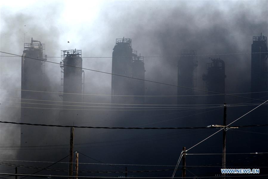 US-TEXAS-PORT NECHES-化工厂-高炉
