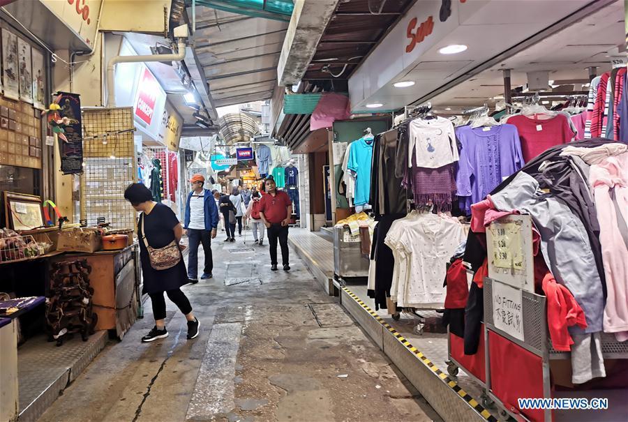 中国香港游客到访率下降(CN)