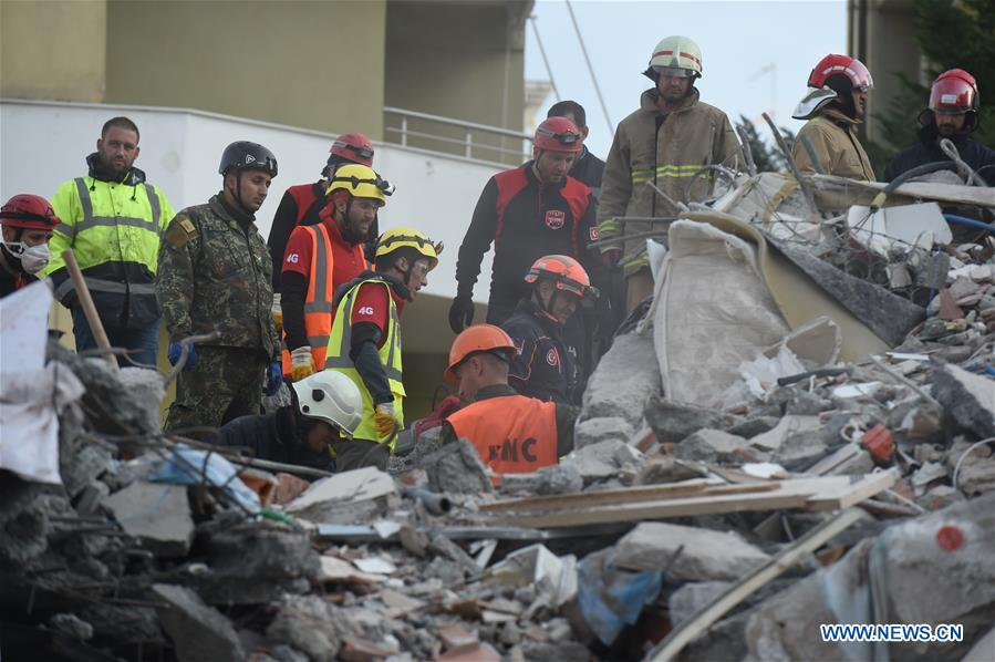 阿尔巴尼亚-杜尔斯地震