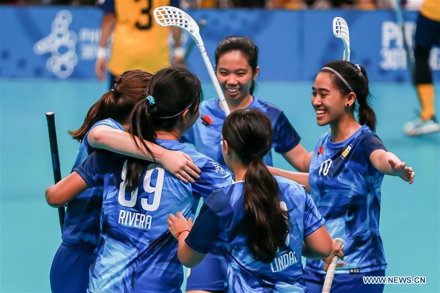 (SP)菲律宾-奎松市-海洋游戏-女子足球菲律宾-VS马来西亚
