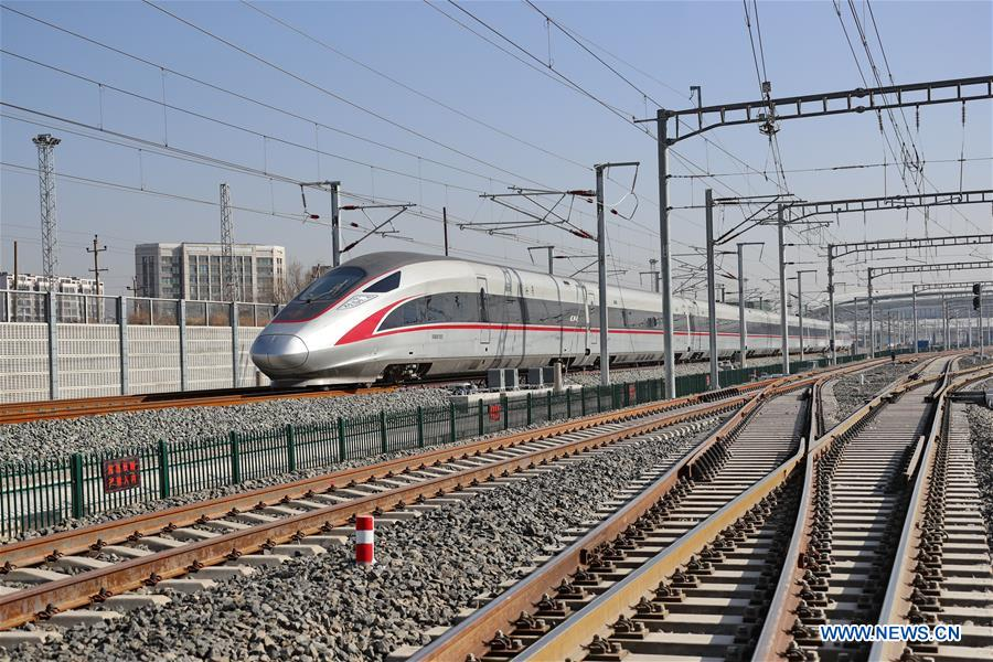 CHINA-HEBEI-ZHANGJIAKOU-HIGH-SPEED RAILWAY STATION-COMPLETION (CN)