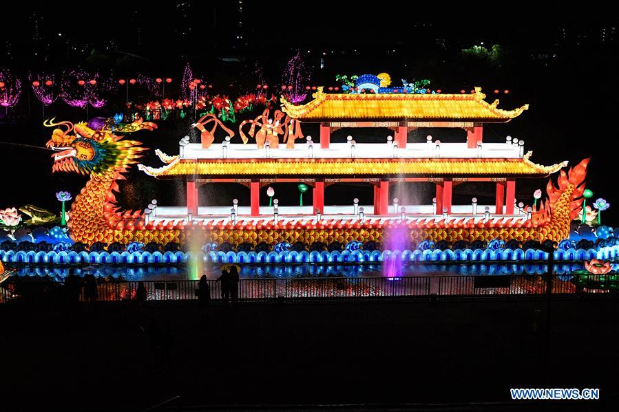 CHILE-SANTIAGO-CHINESE LANTERN FESTIVAL
