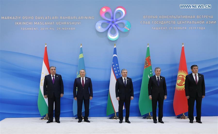 乌兹别克斯坦-塔什干-中亚领导人会议