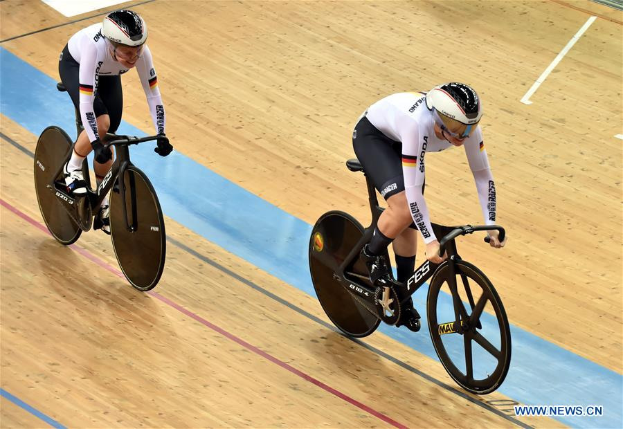 In pics: team sprint of 2019-2020 UCI track cycling world