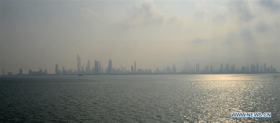 科威特-科威特城市重雾