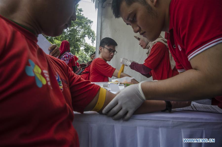 印度尼西亚-万隆-世界艾滋病日活动