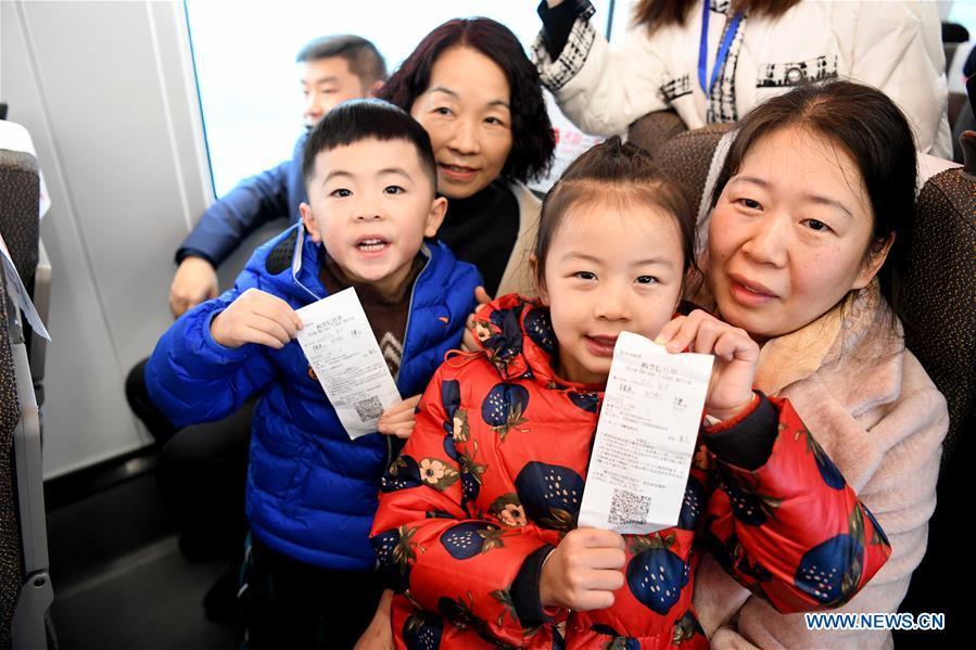 High-Speed Railway Linking Shangqiu and Hefei, Zhengzhou and Fuyang Put into Operation