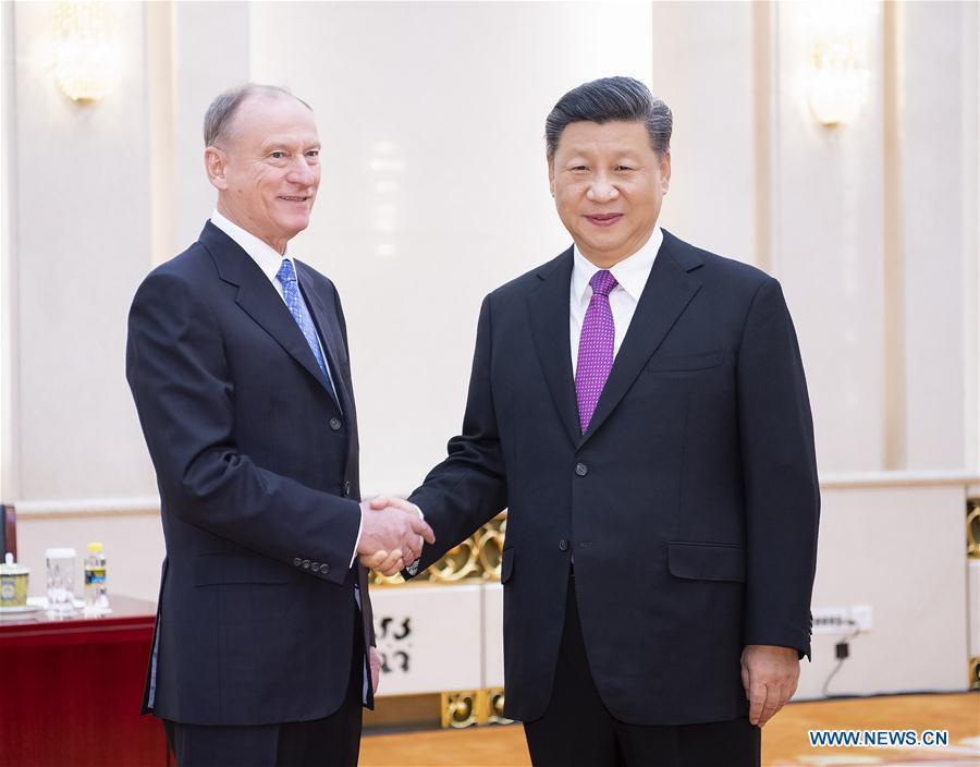 中国-北京-金平-俄罗斯-安全理事会秘书会议(CN)