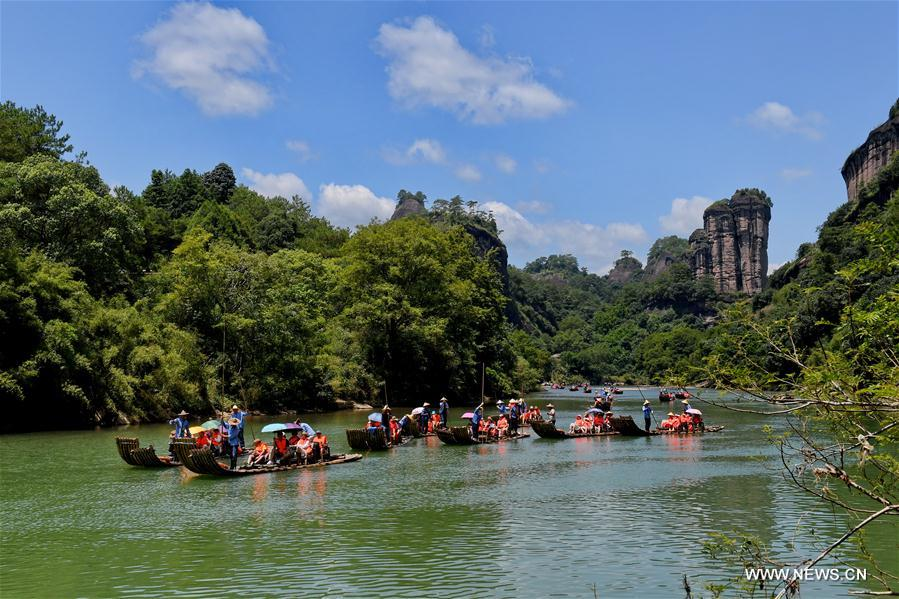CHINA-FUJIAN-WUYI MOUNTAIN-SCENERY (CN)