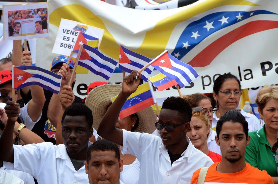 "Cuban leader slams ""unjust, arrogant"" U.S. sanctions - Xinhua   English.news.cn"