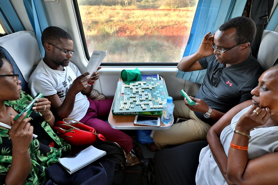 Kenya to add more coaches on SGR train ahead of Christmas - Xinhua | English.news.cn
