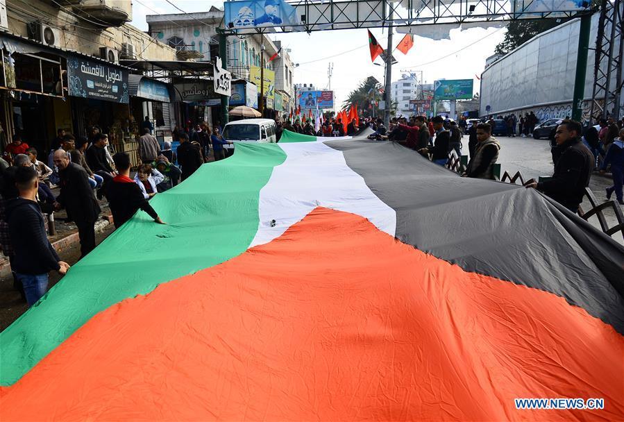 MIDEAST-GAZA-RALLY-PFLP-ANNIVERSARY