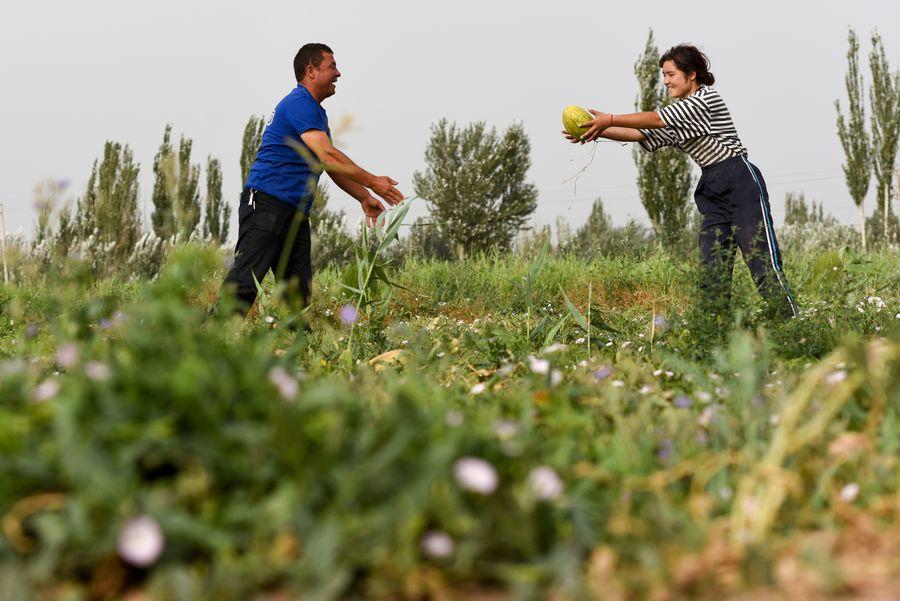 Across China: Xinjiang's supportive policies benefit poor with job creation - Xinhua | English.news.cn
