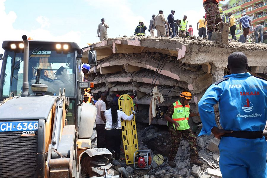 Death toll from Kenya's building collapse reaches 10 - Xinhua | English.news.cn