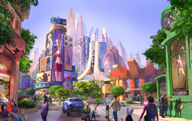 Zootopia-themed land starts construction in Shanghai Disneyland - Xinhua | English.news.cn