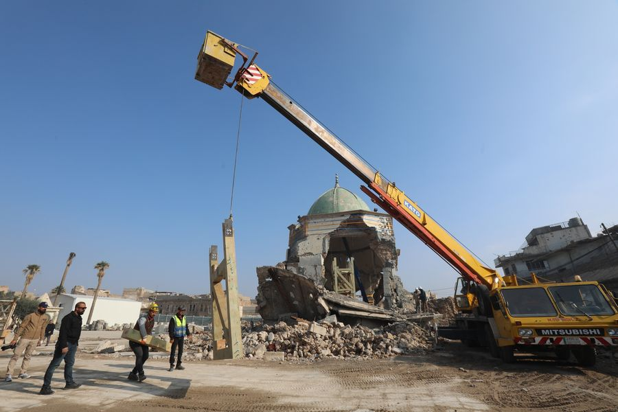 Iraq's Mosul shows signs of recovering after 2 years of IS defeat - Xinhua   English.news.cn