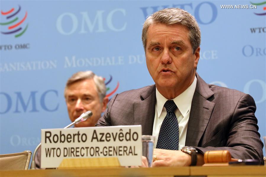 SWITZERLAND-GENEVA-WTO-CHIEF-PRESS CONFERENCE