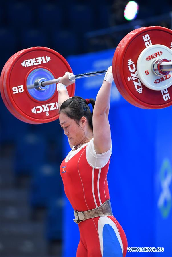 (SP)CHINA-TIANJIN-WEIGHTLIFTING-IWF WORLD CUP (CN)