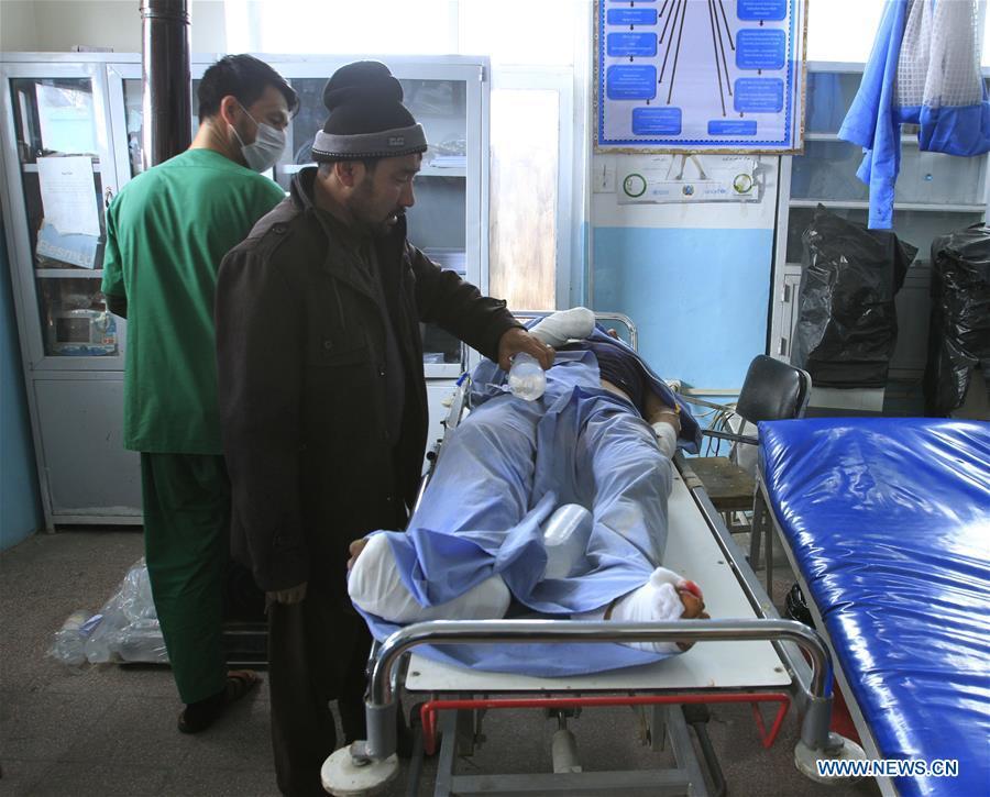 (SPOT NEWS)AFGHANISTAN-GHAZNI-BOMB EXPLOSION
