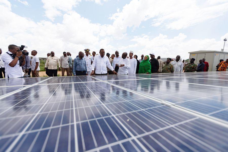 Update: Roundup: Kenya launches Chinese-built 50MW solar power plant - Xinhua   English.news.cn