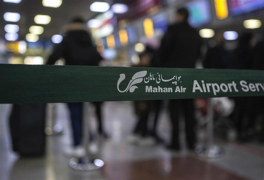 IRAN-TEHRAN-U.S. SANCTIONS-MAHAN AIRLINE
