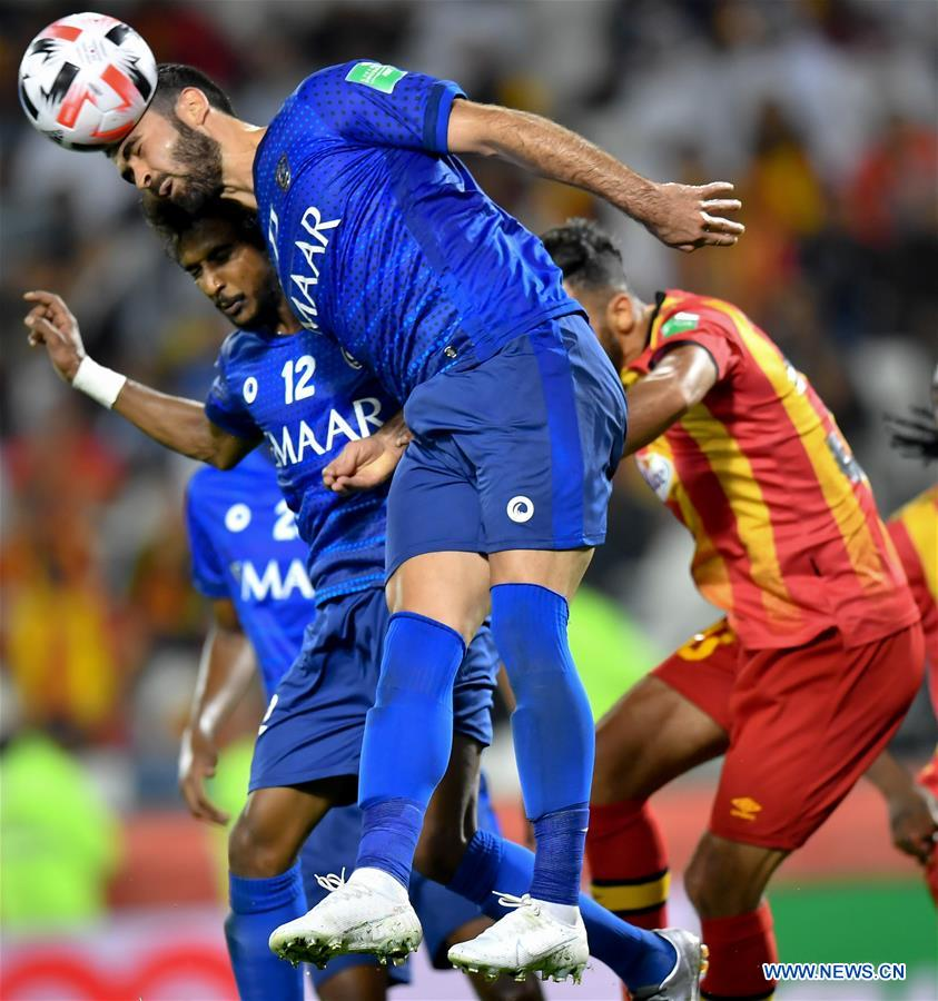 (SP)QATAR-DOHA-FOOTBALL-FIFA CLUB WORLD CUP-AL HILAL VS ES TUNIS