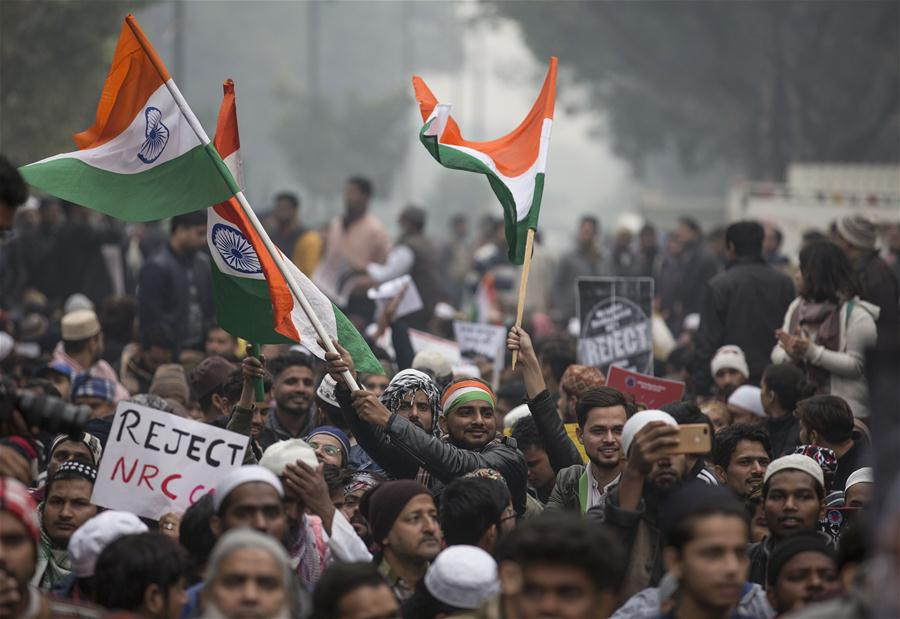 INDIA-NEW CITIZENSHIP LAW-PROTESTS