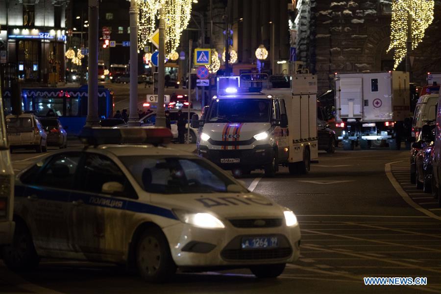 俄罗斯莫斯科射击