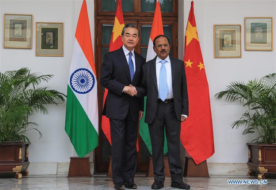 印度新德里-中国-边境问题第22次会议