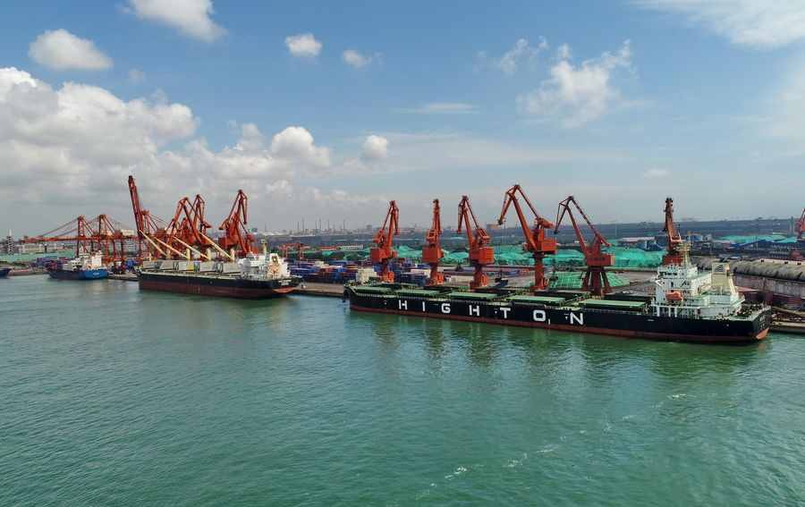Image result for China has started implementing the adjusted tariffs on over 850 imported commodities to promote high-quality development of trade.