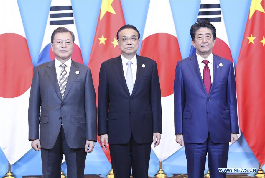 CHINA-JAPAN-ROK-LEADER'S MEETING-LI KEQIANG (CN)