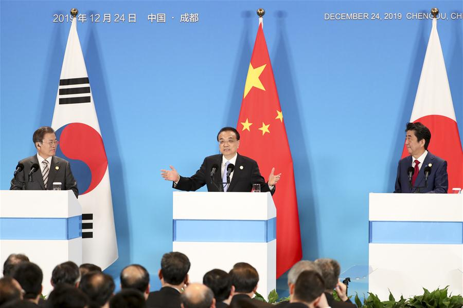 CHINA-JAPAN-ROK-LEADER'S MEETING-PRESS (CN)