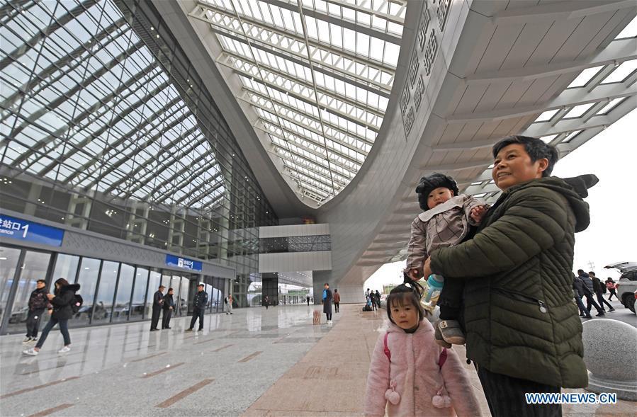 CHINA-JIANGXI-NANCHANG-GANZHOU-HIGH-SPEED RAILWAY-OPEN (CN)