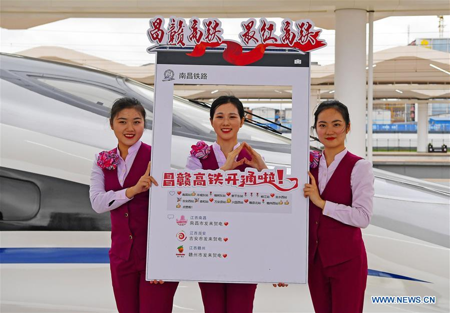 CHINA-JIANGXI-NANCHANG-GANZHOU-HIGH-SPEED RAILWAY-OPEN (CN)