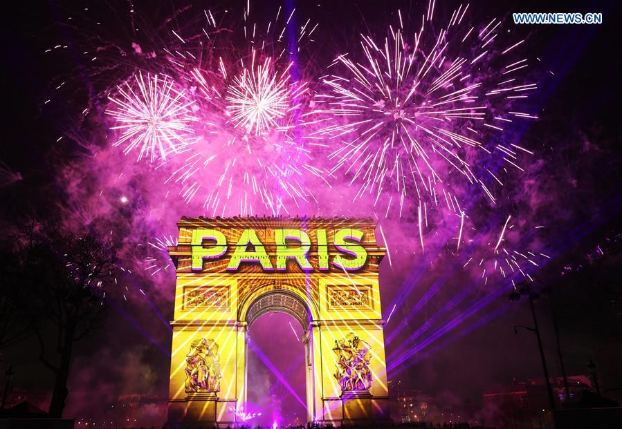 Image result for 2020 wolrd new year france paris
