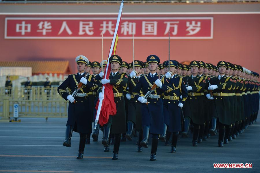 CHINA-BEIJING-FLAG-RAISING CEREMONY (CN)
