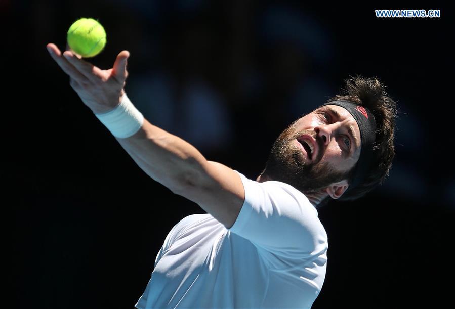 (SP)澳大利亚-珀斯-网球-ATP第四天
