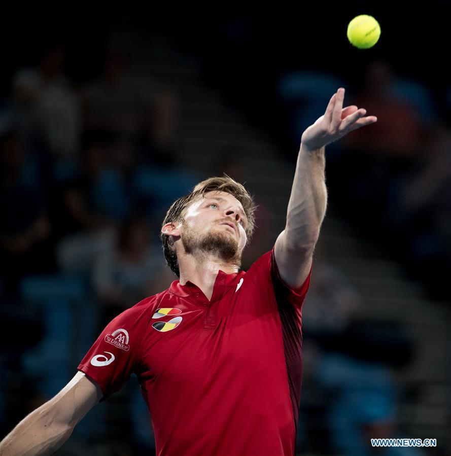(SP)澳大利亚-悉尼-网球-ATP第五日