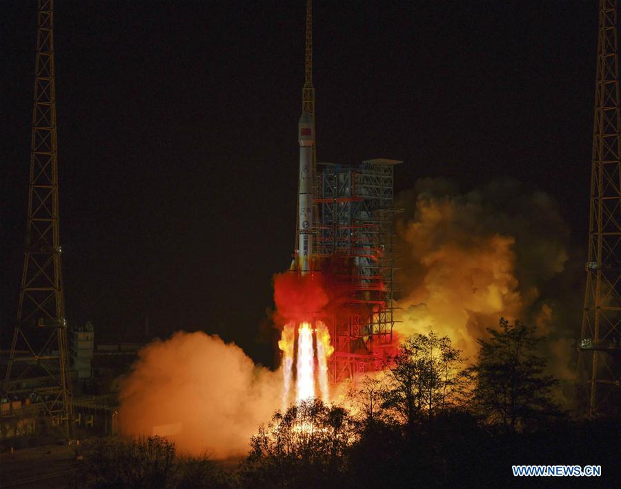 CHINA-XICHANG-COMMUNICATION TECHNOLOGY EXPERIMENT SATELLITE-LAUNCH (CN)