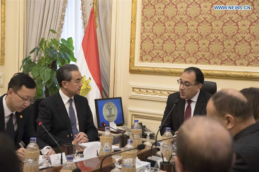 埃及-开罗-下午-中国-王宜会议