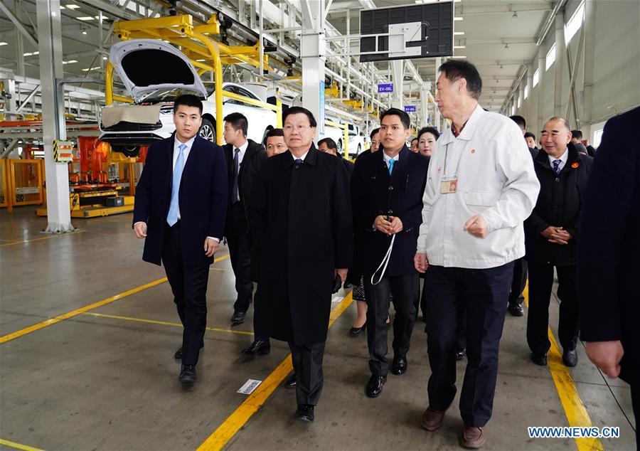中国陕西老挝总理来访(CN)