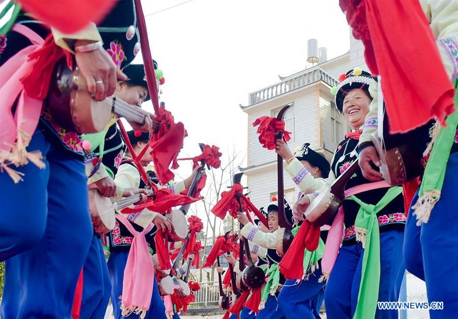 #CHINA-YUNNAN-DALI-CHINASE LUNAR New Year-GALA-REHEARSAL(CN)