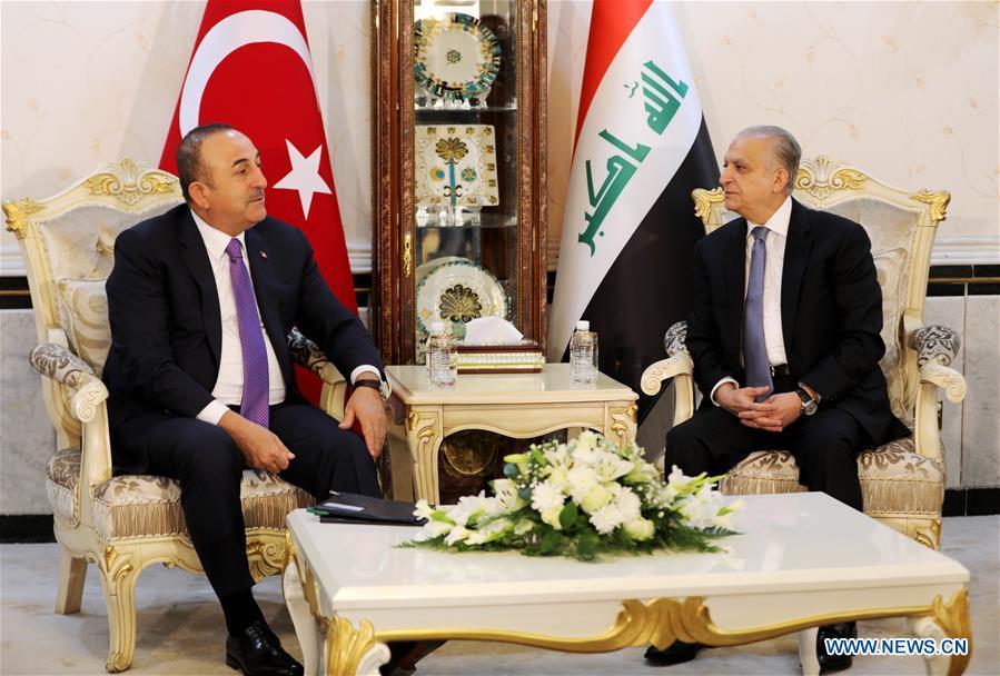 伊拉克-巴格达-土耳其-FM-访问
