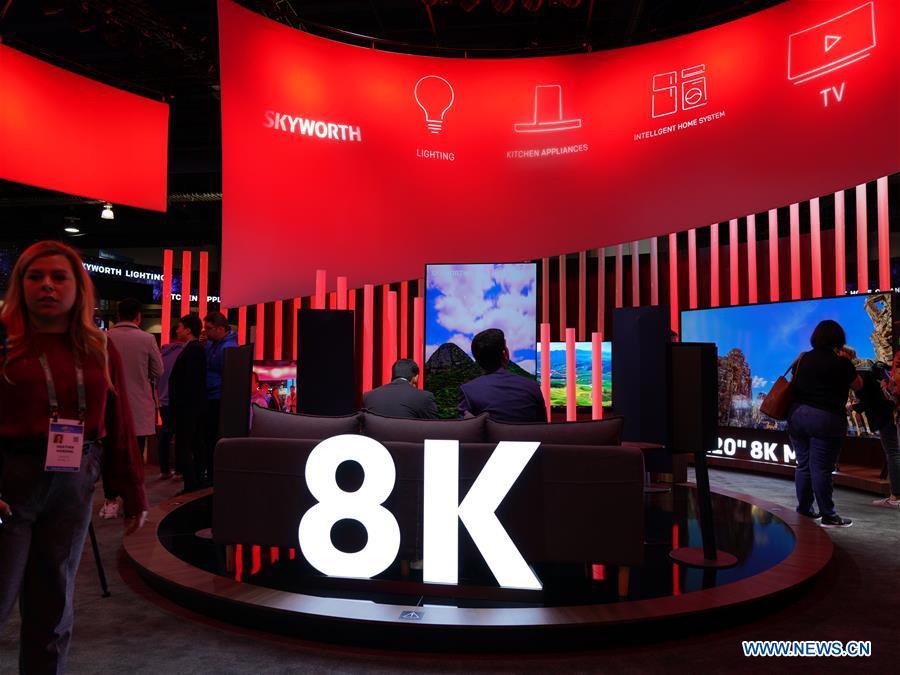 US-LAS VEGAS-CES 2020-8K电视