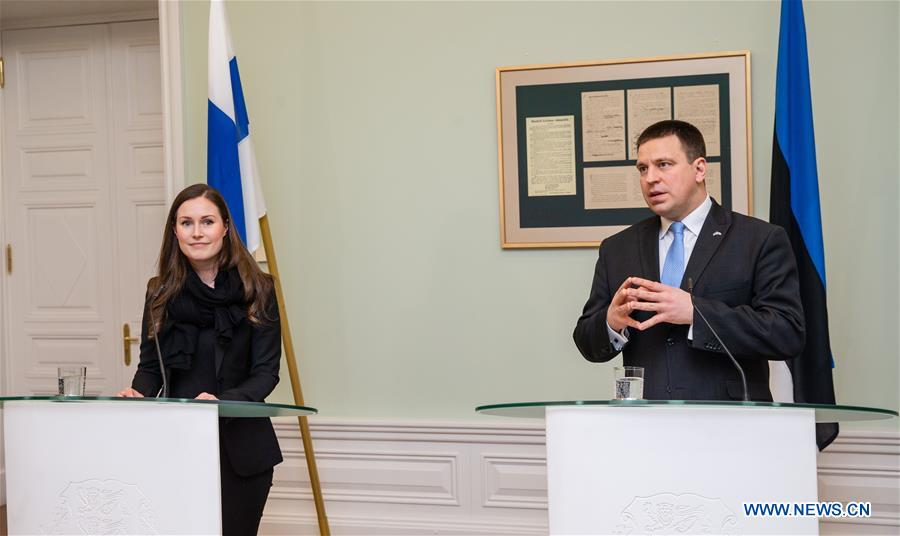 爱沙尼亚-芬兰-PM-访问