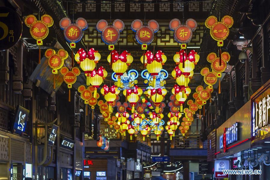 中国-上海-豫园花园-豫园春节(CN)