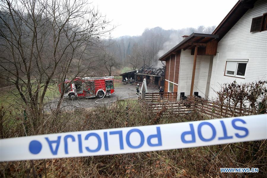 克罗地亚-安德鲁萨瓦克退休家庭火灾